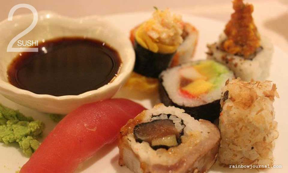 Plate 2: Sushi, Vikings Buffet at Mall of Asia (MOA)